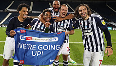 West Brom promoted to Premier League...