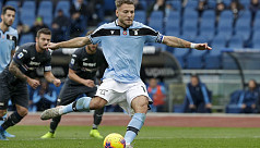 Immobile equals Serie A scoring record