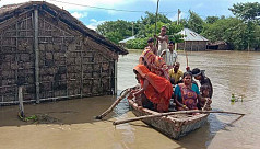 Floods, coronavirus hobble 2 poorest states of India