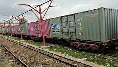 India: Container train service with...
