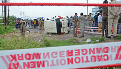 Furore after Indian police shoot gangster...