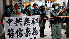 HK police charges 1st person under new security law