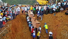 Mass burial for scores killed in Myanmar...