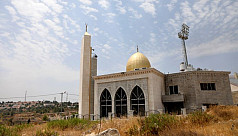 West Bank mosque damaged by arson, Palestinians blame settlers
