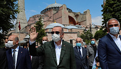 Mufti of Egypt says Turkey's Hagia Sophia mosque conversion is 'forbidden'