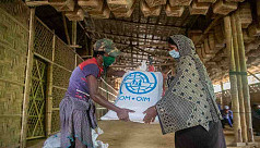 Disaster-resilient shelters built in Cox's Bazar with IOM support