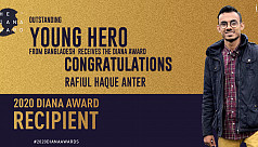 Jaago volunteer honoured with Diana...