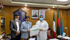 Saif Powertec provides masks, PPEs for sports ministry