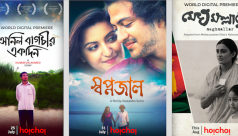 Three popular films on Hoichoi this Eid