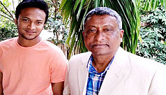 Shakib's father tests Covid 19 positive