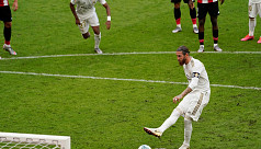 Ramos holds nerve again as Madrid beat Bilbao