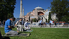 Turkey and Greece exchange harsh words over Hagia Sophia prayers