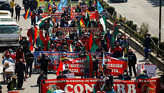 Thousands in Bolivia anti-government protest