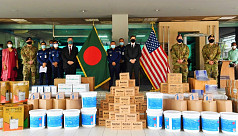 Covid-19: US Embassy provides PPE to Bangladesh Police Headquarters