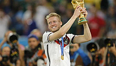 Germany's World Cup winner Schuerrle...