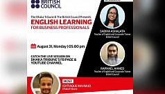Live webinar: English learning for business professionals