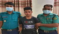 Youth arrested for publicly exposing himself before a girl in Chittagong