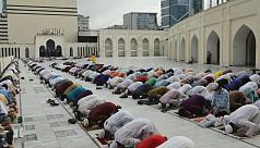 Main Eid jamaat held at Baitul Mukarram...