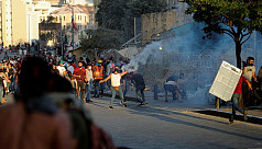 Beirut police fire tear gas as protesters...