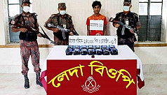 Rohingya man arrested with 140,000 yaba pills worth 4.2C in Teknaf