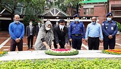 Bimstec officials visit Bangabandhu's mausoleum at Tungipara