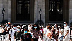 Paris imposes face mask order for outdoor...