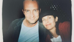 Courteney Cox shares an old photo with Matthew Perry; could this be any cuter?