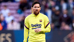 Messi misses first pre-season training session