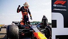 Verstappen steps up to end Mercedes' winning start