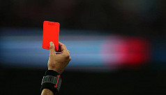 Red card for deliberate cough at players or officials