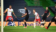 Leipzig stun Atletico to reach UCL last...