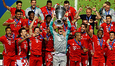 Bayern win Champions League as Coman...