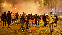 Over 150 arrested as PSG fans riot after...