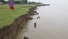 Flooding recedes in the Ganges...