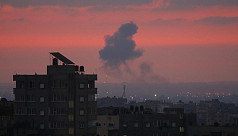 Israel bombs Gaza as rocket fire...