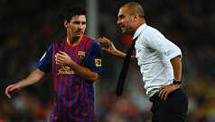 Guardiola has no complaints despite missing out on Messi
