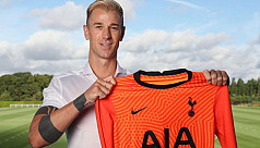 Spurs sign Hart on free transfer