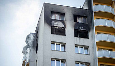 11 killed in suspected arson at Czech apartment block