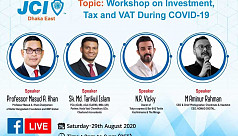 JCI Dhaka East holds webinar on investment, tax and VAT, in the pandemic