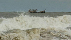 Lighter vessel capsizes in Bay of Bengal