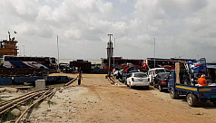 Shimulia-Kathalbari ferry services suspended at night