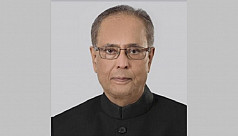 Former Indian president Pranab Mukherjee on ventilation support