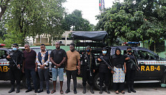 5 including 4 Nigerians arrested for committing fraud in Dhaka