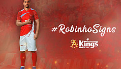 Kings loan in Brazilian Robinho for a year