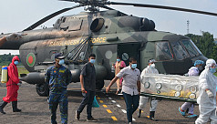 MP Salma, diagnosed with Covid-19, airlifted to Dhaka