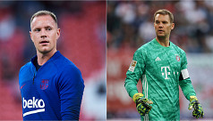 Like Ronaldo and Messi, Ter Stegen and Neuer square off in UCL