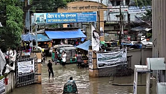 Rains, tidewater flood parts of Chittagong...