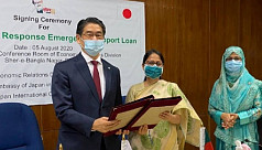 Bangladesh, Japan sign exchange of notes on emergency support to tackle COVID-19