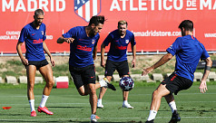 Atletico resume training after rest of squad test negative Covid-19 cases