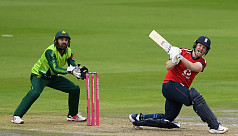 England beat Pakistan by five wickets...